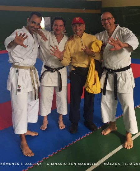 Examenes Karate 2019 5º danes